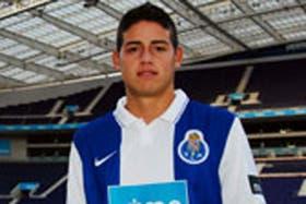 James Rodríguez ya luce con los colores de Porto