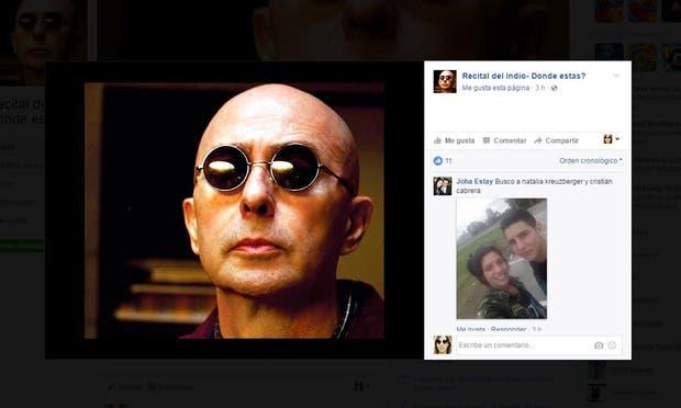Indio Solari en Olavarría: usan Facebook para encontrar a las personas perdidas