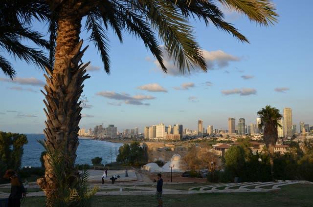 Tel Aviv vista desde Yafo (Jaffa).