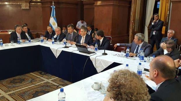 A pedido del FPV, el plenario recibe a los gobernadores que exponen sobre el acuerdo con los holdouts