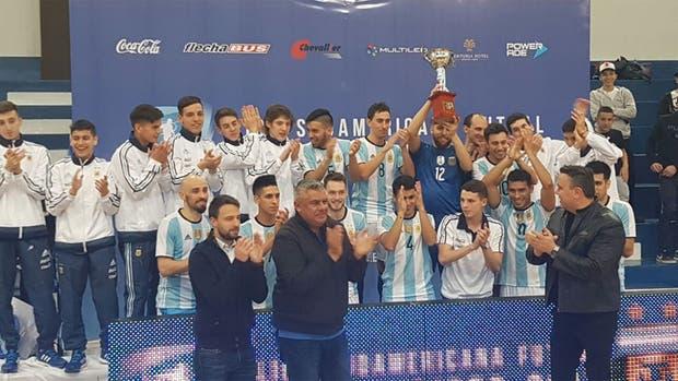 Paraguay, subcampeón de la Liga Sudamericana de Futsal