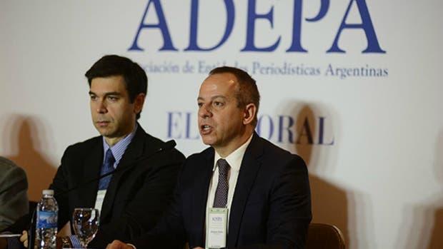 Martín Etchevers, presidente de la Comisión de Libertad de Prensa de Adepa