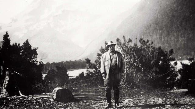 El presidente estadounidense Theodore Roosevelt. Foto: bicentennialppt.