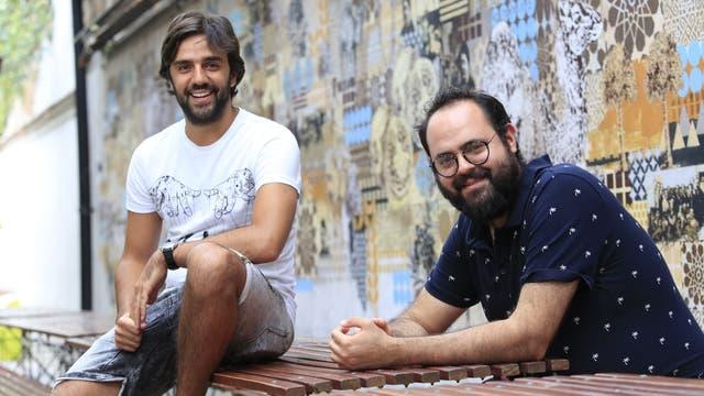 Los primos Juan Martín Migueres y Nicolás Wolowelski, dueños de Benaim y Tetuán Brasero Marroquí