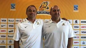 Mario Ledesma y Nico Fernández Miranda