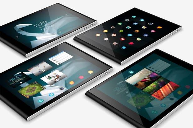 La tableta Jolla tiene una pantalla de 7,85 pulgadas, chip Atom de cuatro núcleos y corre Sailfish 2.0, una distribución de Linux capaz de usar aplicaciones Android