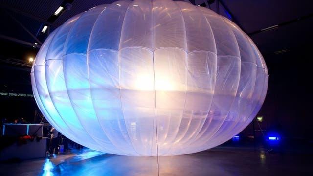 Los globos, que utilizan helio y vuelan a unos 20 km de altura, pueden servir como torres de conexión.