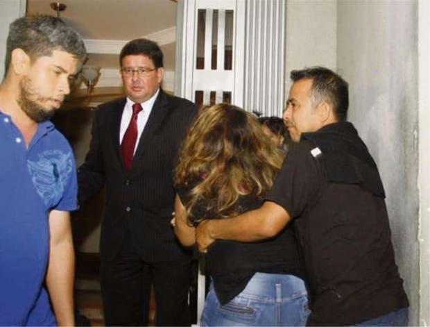 Familiares de Pérez Castro protagonizaron incidentes en el tribunal