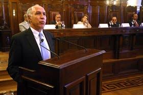 El presidente de la Corte Suprema de Justicia, Ricardo Lorenzetti, encabezó esta mañana el acto por el 150° aniversario del máximo tribunal y brindó un discurso de alto contenido político
