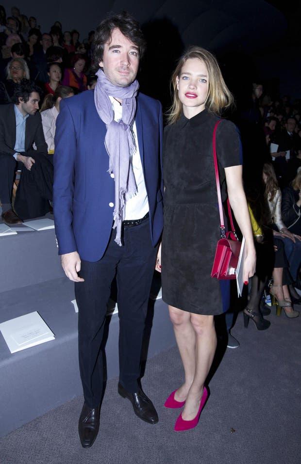 Una pareja muy top: Natalia Vodianova, la modelo rusa, y Antoine Arnault, el heredero del imperio LVMH. ¿Quién de los dos crees que tiene más sentido de la moda?. Foto: Gentileza Brandy PR