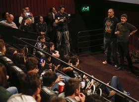 Walter Donado y Leonardo Sbaraglia, otra vez frente a frente, en esta ocasión charlando sobre la violencia