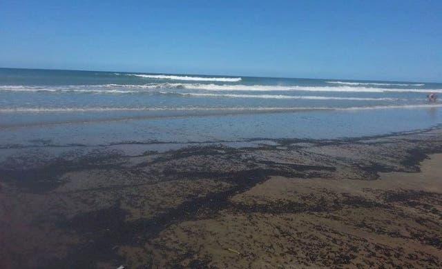 Una de las playas de Mar de Ajó