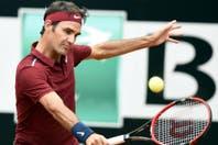 Roger Federer quedó eliminado del Masters 1000 de Roma en octavos de final al perder ante Dominic Thiem