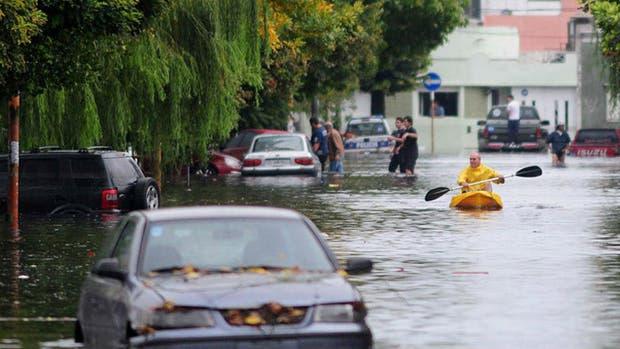 El audio que advertía sobre la llegada de un tornado generó pánico, ante el antecedente de la trágica inundación de La Plata en el 2013