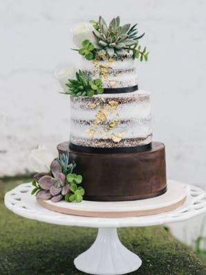 Tendencia: tortas decoradas con cactus y suculentas