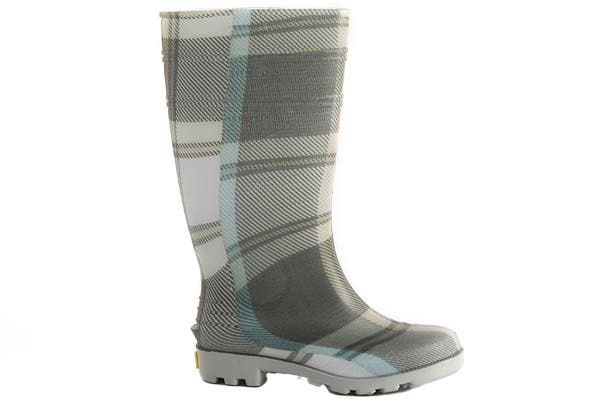 Para los más osados, bota escocesa de lluvia (Seco, $240).