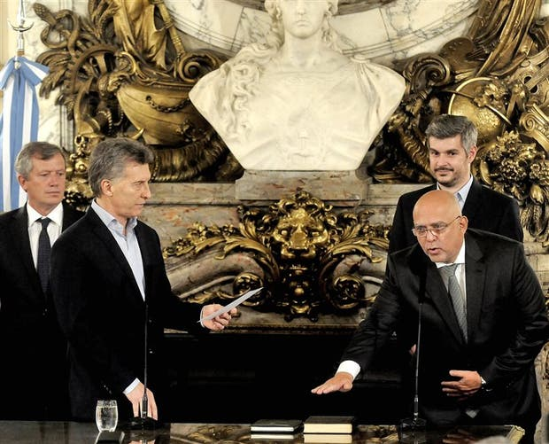 Vignolo asume como titular del Plan Belgrano en Casa Rosada