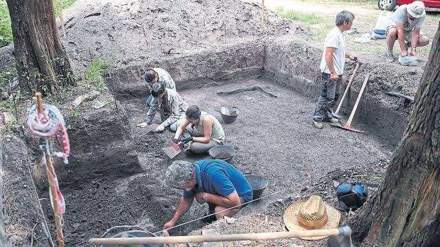 Las excavaciones se hicieron a principios de 2016