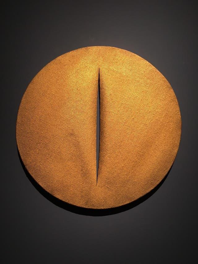 Concepto espacial de Lucio Fontana, en Robilant+Voena