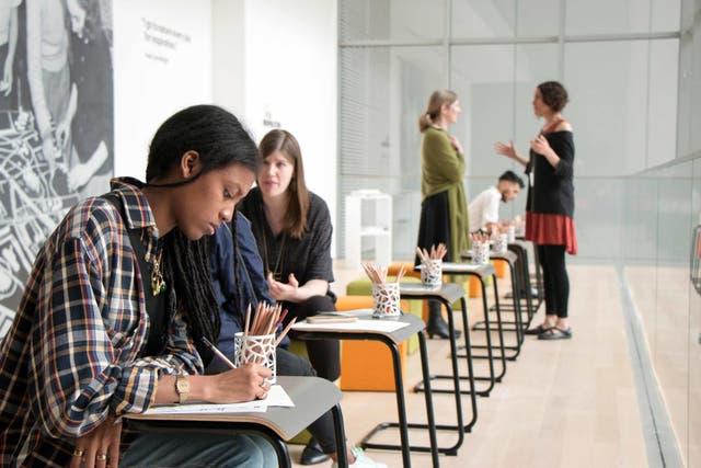 The People''s Studio, en el MoMA