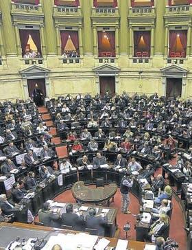 El debate por la reforma llevó a un escándalo en Diputados