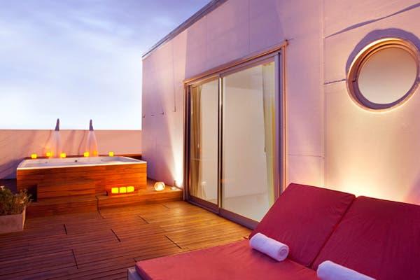 Una apuesta al relax en el medio de Palermo. Foto: Gentileza Vitrum Hotel