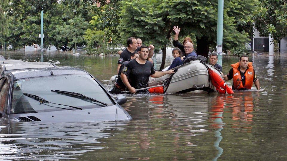 Las inundaciones una de las causas del calentamiento global