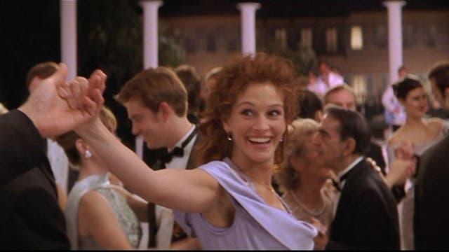 Hay baile en el final de La boda de mi mejor amigo