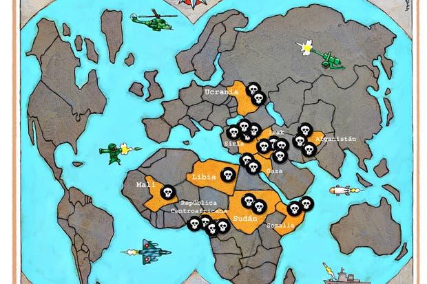 El mundo, en medio de una escalada violenta