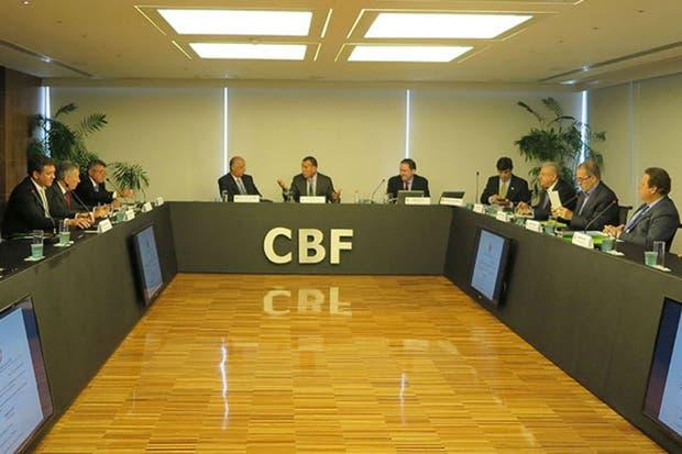 Los presidentes e reunieron en la sede de la CBF