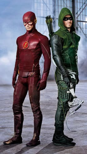Flash y Arrow, dos éxitos de la tele