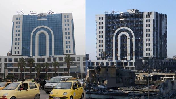 Homs, antes y después