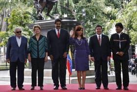 Los presidentes del Mercosur se mostraron preocupados por la crisis en Gaza