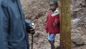 En el paupérrimo barrio de Kangemi, en Nairobi, donde malviven más de 100.000 personas