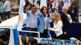 Cristina Kirchner busca aumentar su caudal de votos en octubre