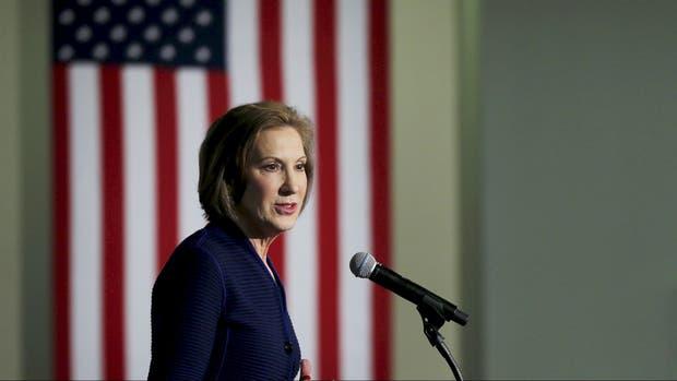 Fiorina no logró una buena elección interna republicana