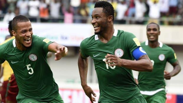 Nigeria se sumó a los clasificados para el Mundial de Rusia 2018