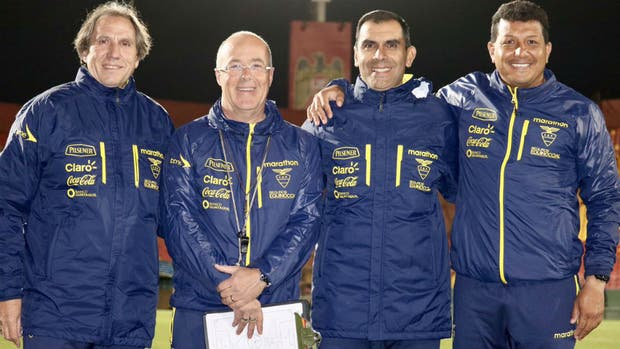 Cuerpo técnico de Ecuador
