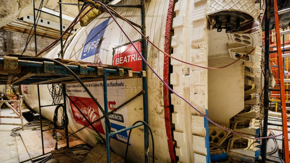 La tunelera salió alrededor de 15 millones de dólares. Foto: LA NACION / Hernán Zenteno