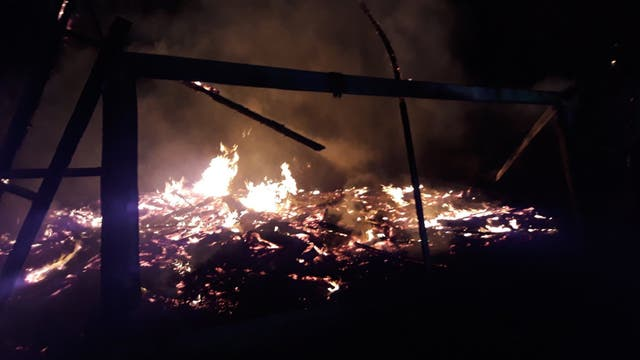 Confirman dos ataques incendiarios a capillas católicas en La Araucanía