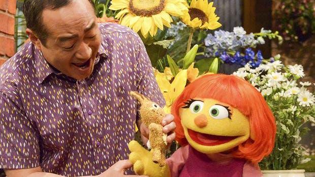 Julia, un muppet con autismo, será la nueva incorporación en Plaza Sésamo