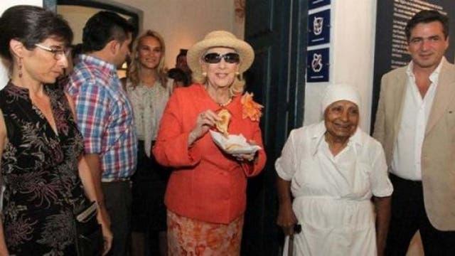 Mirtha Legrand es una de las celebridades que probó las empanadas de Sara