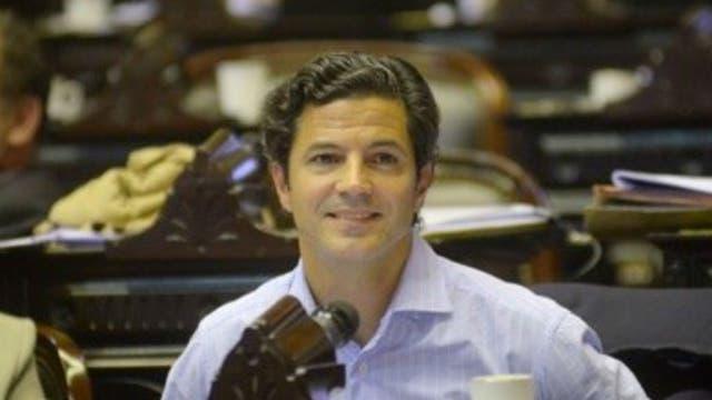 El diputado Luciano Laspina (Pro)