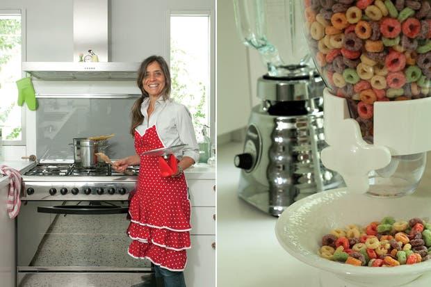 Cocina: una reforma integradora   living   espacio living