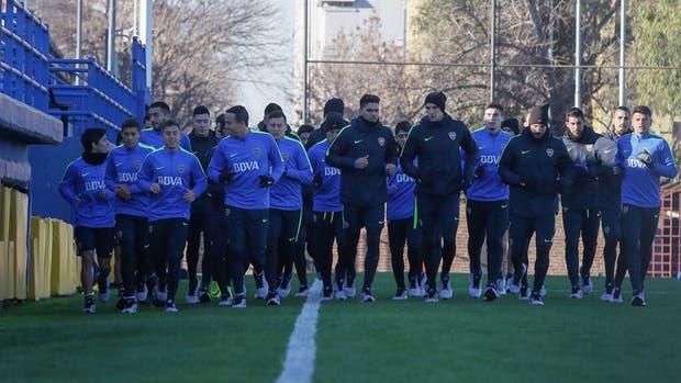 Boca continuó con los festejos contra Villarreal