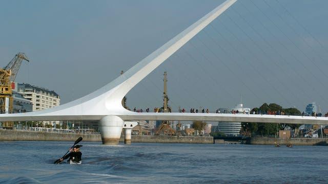 Las aguas de Puerto Madero están contaminadas