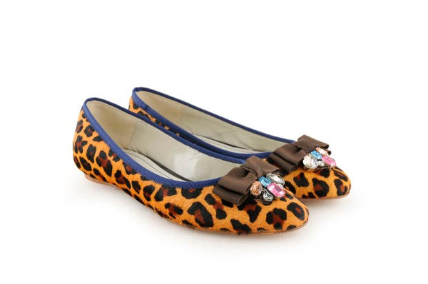 Chatitas animal print (Jackie Smith, consultar precio).