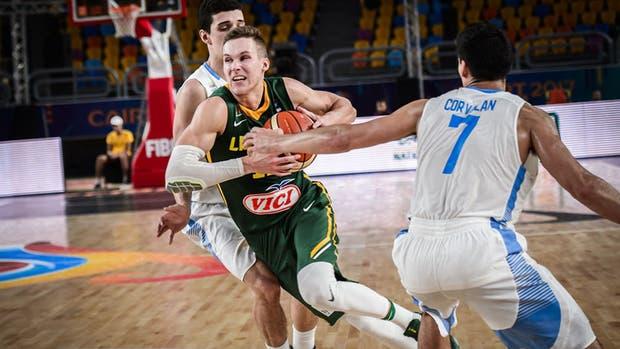 Lituania derrotó a la Argetnina en la reclasificación