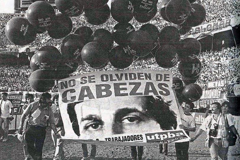 El homenaje a José Luis Cabezas. Foto: Archivo TEA y DeporTEA