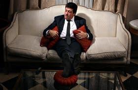 Gabriel Mariotto en el diván